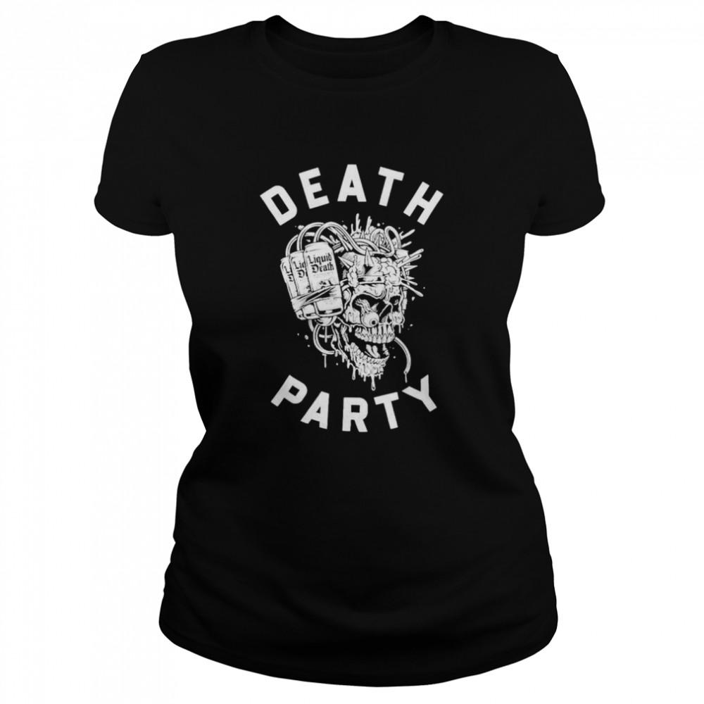 Skull Liquid Death party shirt Classic Women's T-shirt