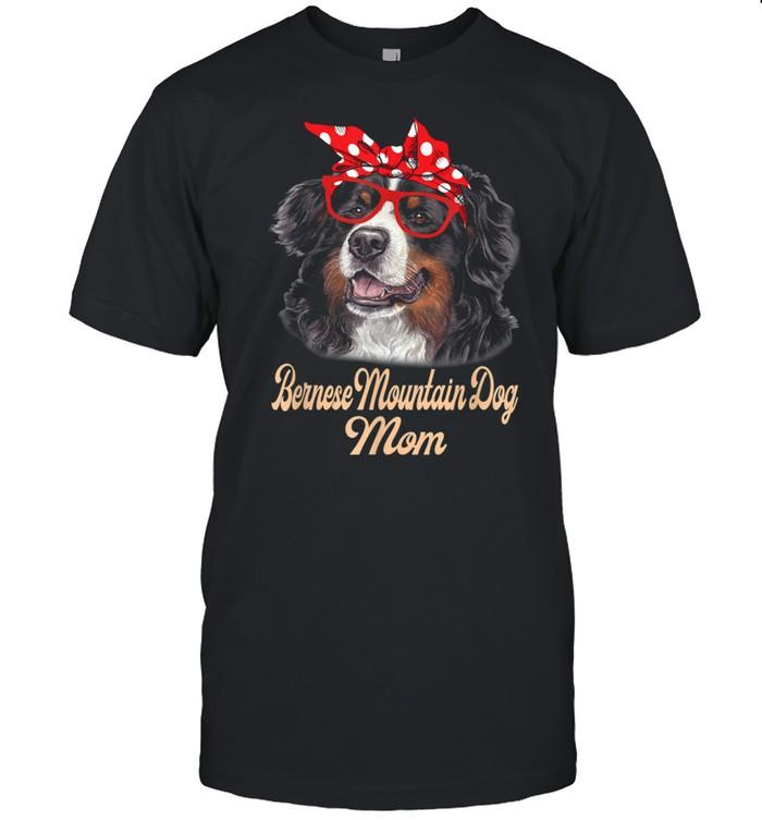 Bernese Mountain Dog Bandana Dog Mother's Day shirt Classic Men's T-shirt