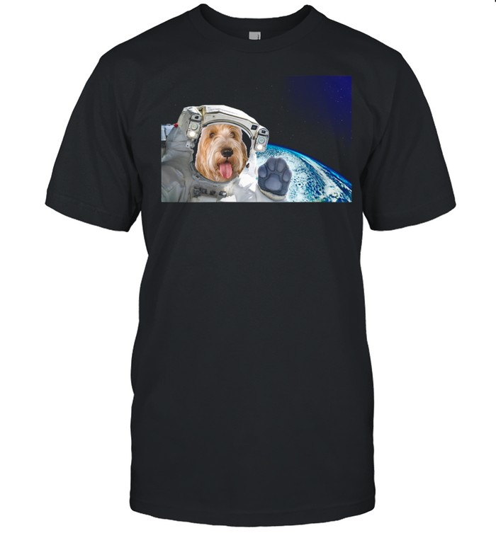 Dog in Space Petits Bassets Griffons Vendeen  Classic Men's T-shirt