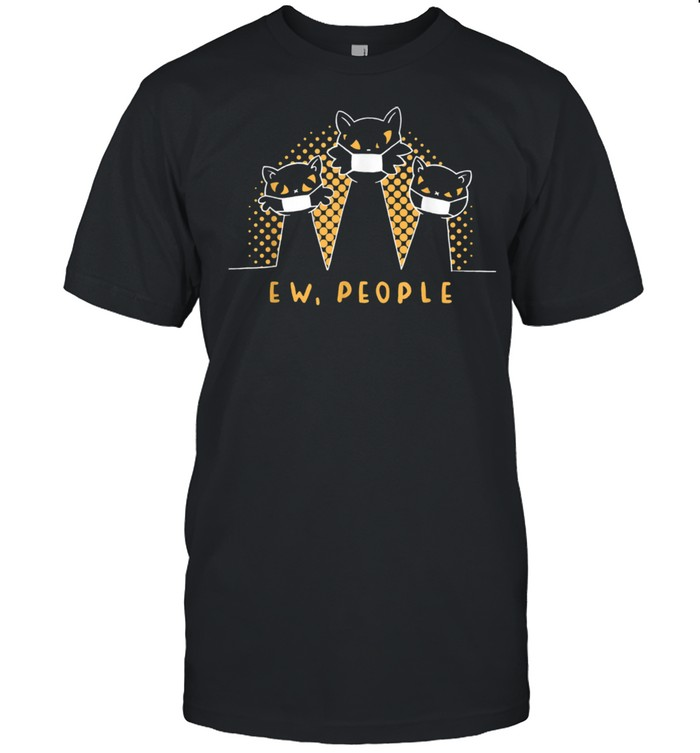 Ew People Meowy Cats Retro Cat Vintage  Classic Men's T-shirt