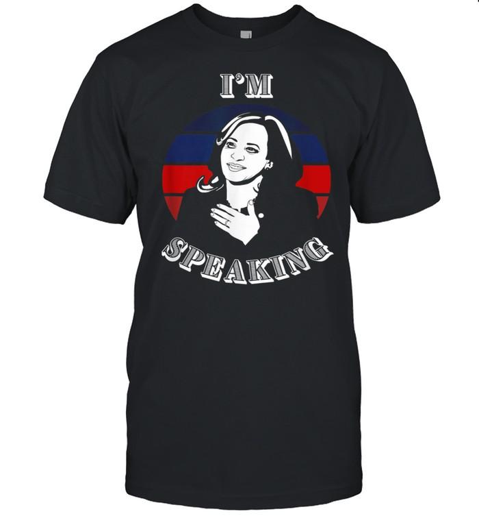 I'm Speaking Kamala Harris VP debate reference shirt Classic Men's T-shirt