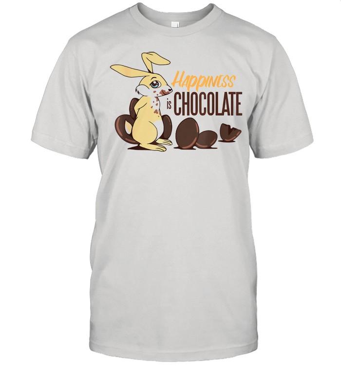 Rabbit loves sweet choco Easter bunnie  Classic Men's T-shirt