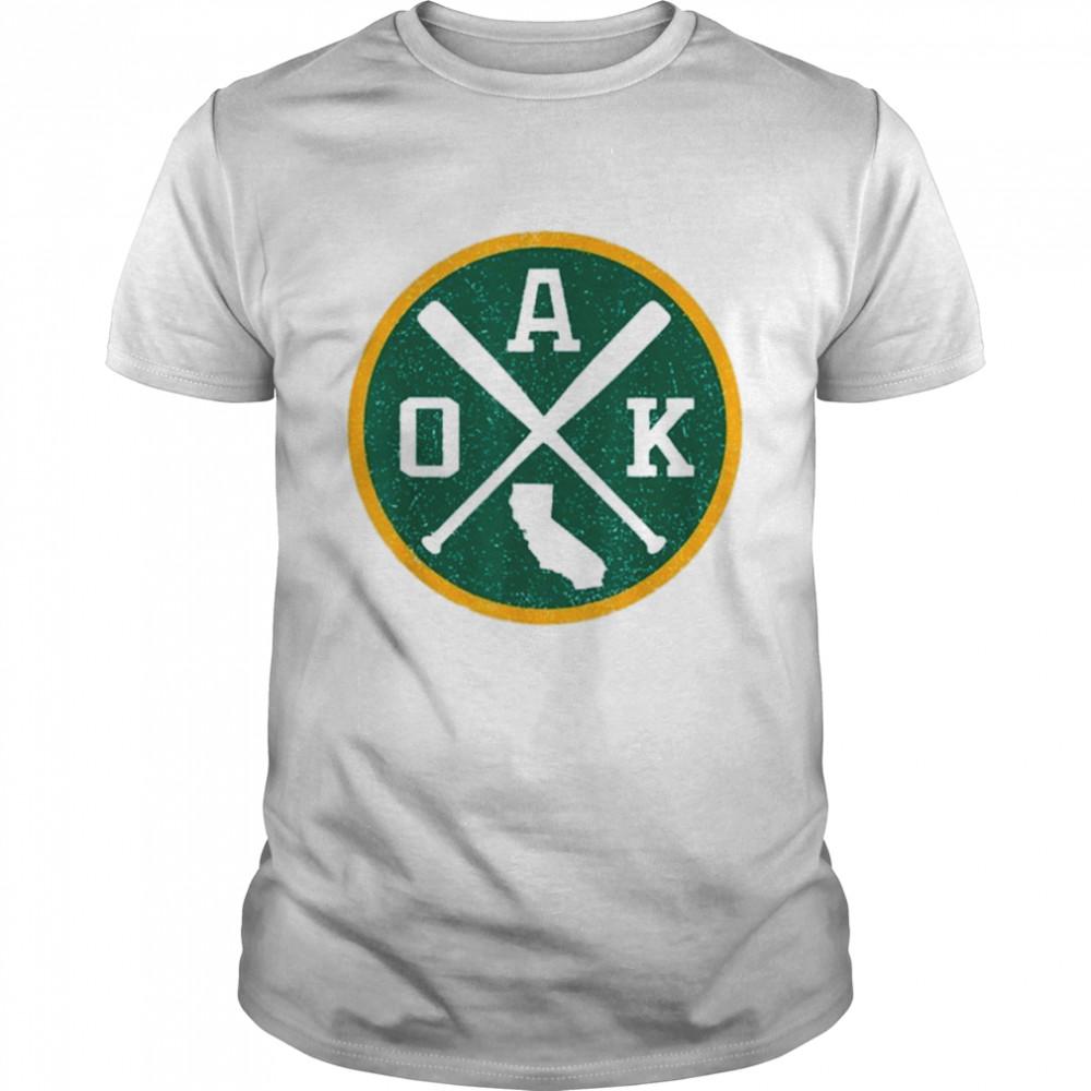 Retro Oakland Baseball Vintage shirt Classic Men's T-shirt