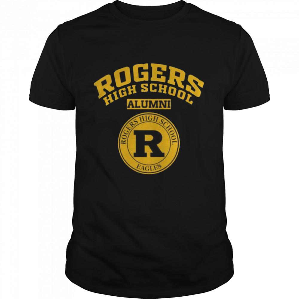 Rogers High School Logo Alumni  Classic Men's T-shirt
