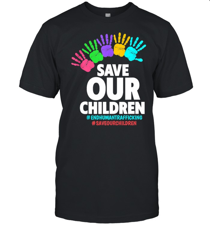 Save Our Children End Human  Classic Men's T-shirt