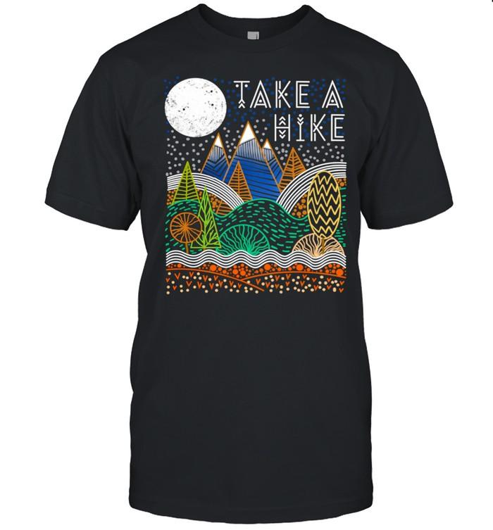 Take A Hike Nature Hiking Camping shirt Classic Men's T-shirt