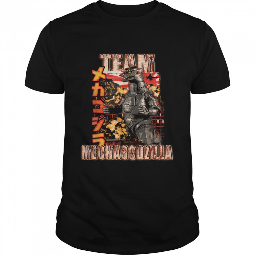 Team Mechagodzilla Japan Vintage  Classic Men's T-shirt