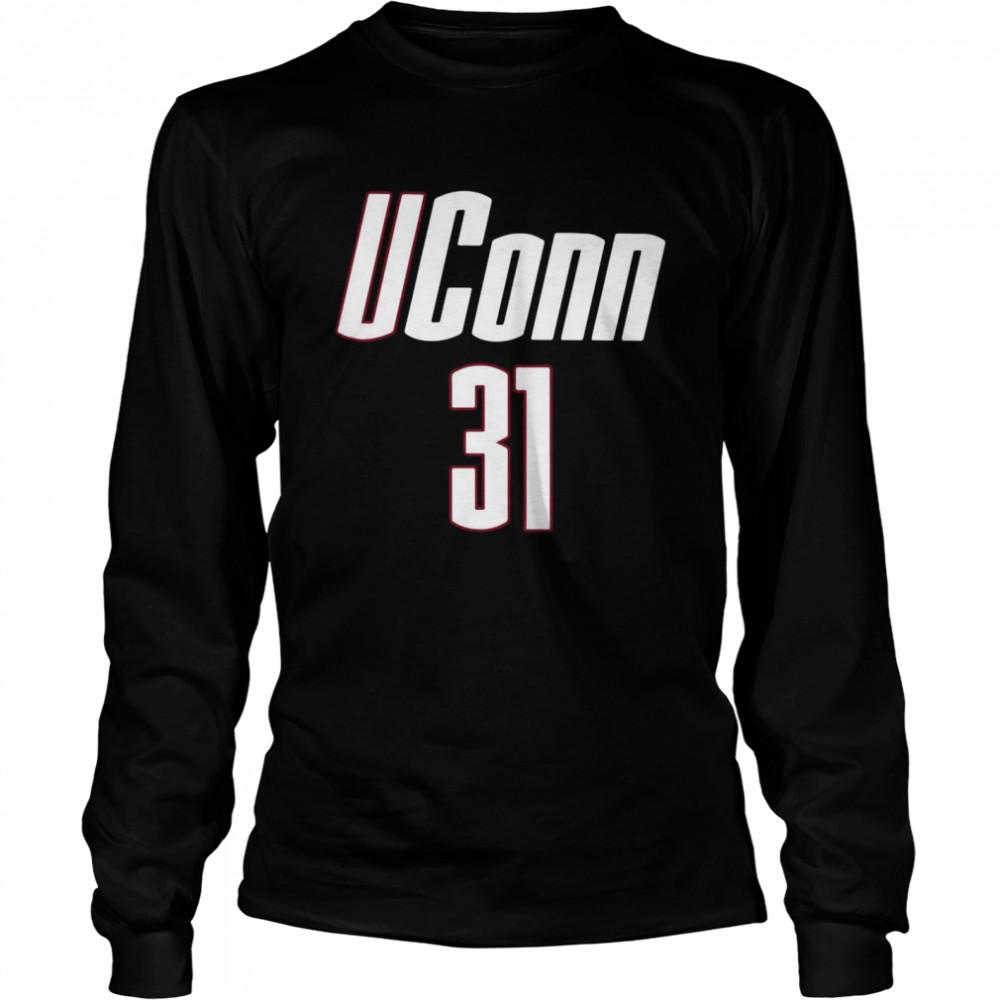 UConn Tina Charles 31 shirt Long Sleeved T-shirt