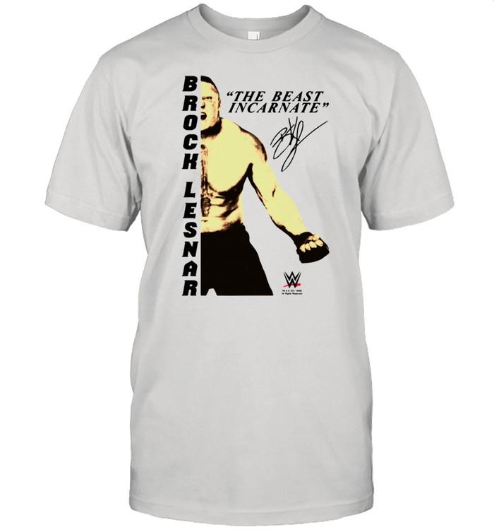 WWE Brock Lesnar Inkarniertes Tier OU  Classic Men's T-shirt