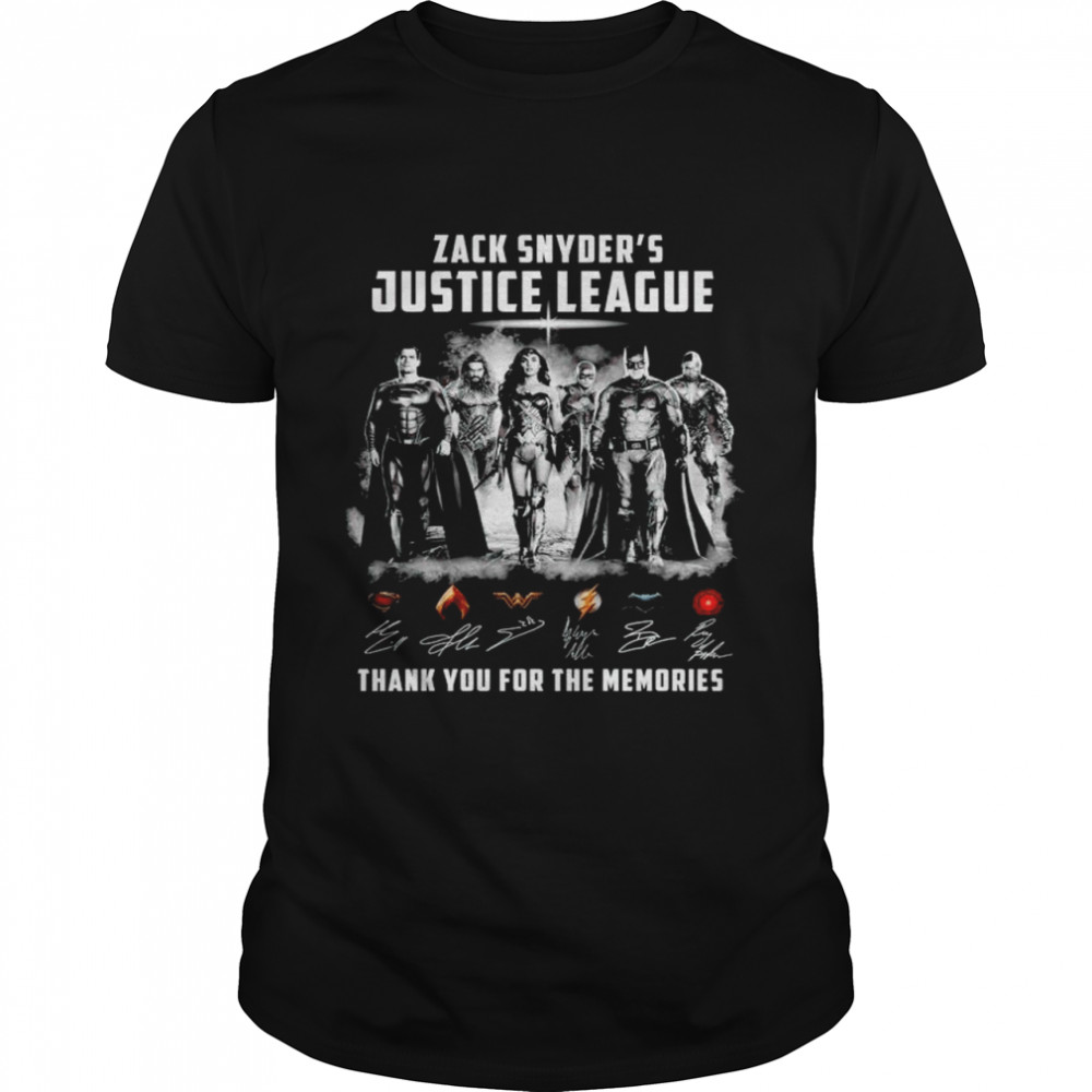Zack Snyders Justice League thank you for the memories shirt Classic Men's T-shirt