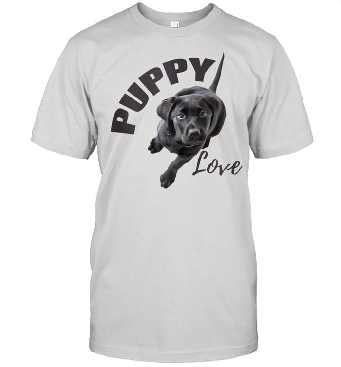 Black Lab Puppy Love  Classic Men's T-shirt