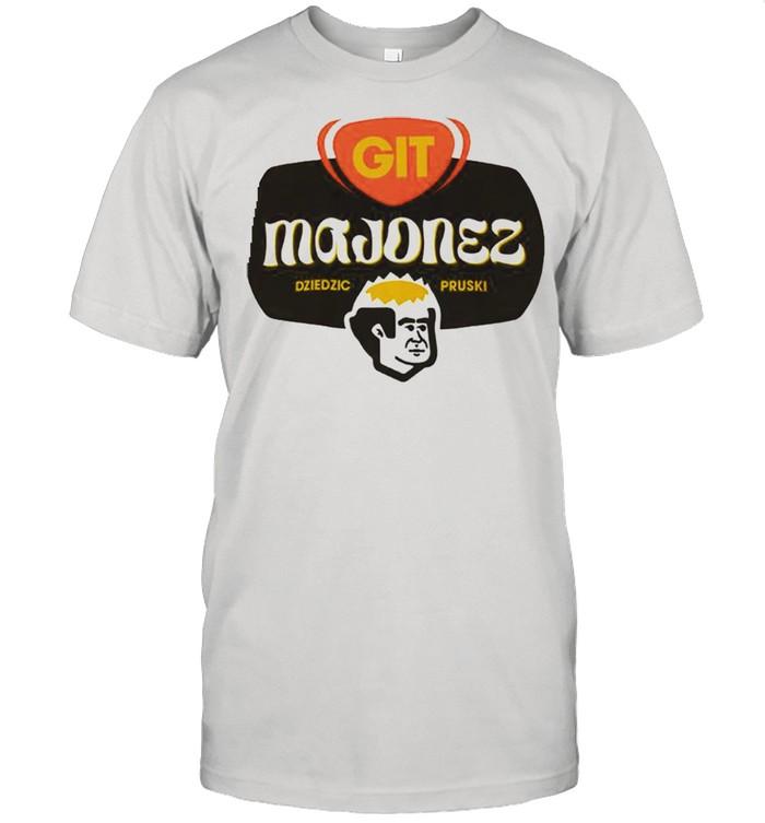Git Majonez dziedzic pruski shirt Classic Men's T-shirt