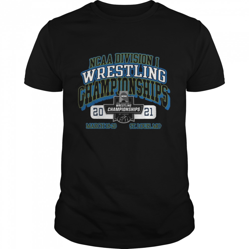 2021 Ncaa Division Wrestling Championships March 18 20 St Louis Mo  Classic Men's T-shirt