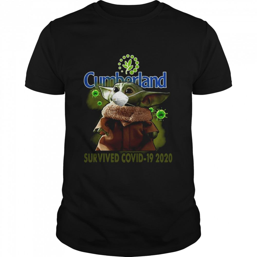 Baby Yoda Cumberland Farms Survived Covid-19 2020  Classic Men's T-shirt