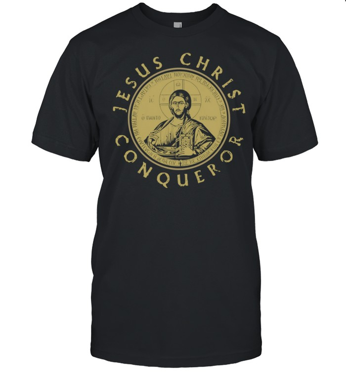 Jesus Christ Conqueror Orthodox Christianity  Classic Men's T-shirt