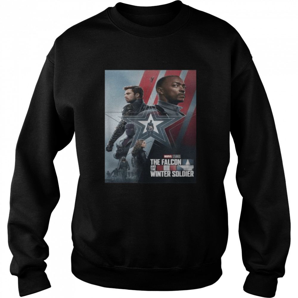 Marvel The Falcon and The Winter Soldier Series Poster  Unisex Sweatshirt