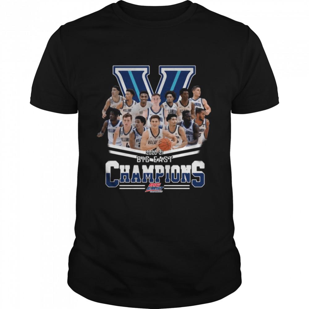 Villanova Wildcats 2020-2021 big east Champions Big East Conference shirt Classic Men's T-shirt