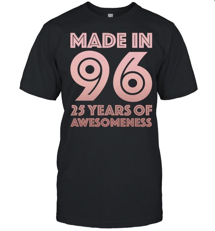 25. Geburtstag Geschenke Mann Frau 25 Jahre alter Sohn  Classic Men's T-shirt