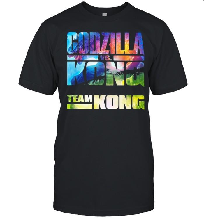 Godzilla Kong Team Kong The Monster  Classic Men's T-shirt