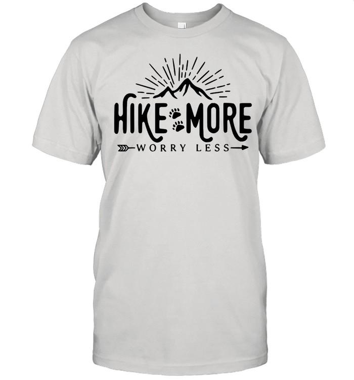 Hike more worry less shirt Classic Men's T-shirt