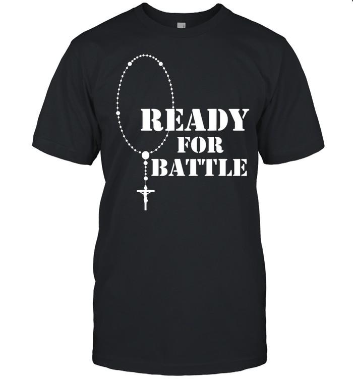 Rosary warrior battle of lepanto rosaries catholic shirt Classic Men's T-shirt