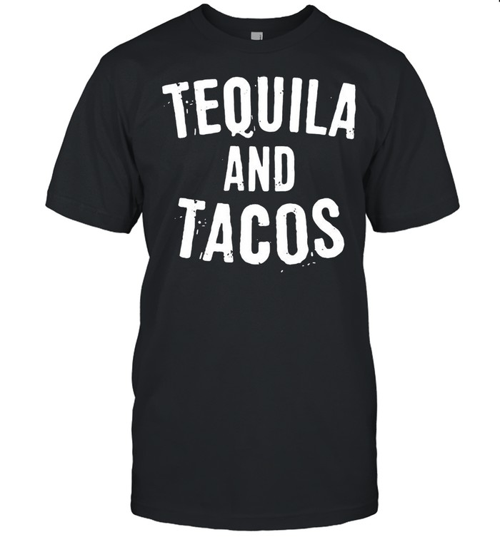 Tequila and tacos shirt Classic Men's T-shirt