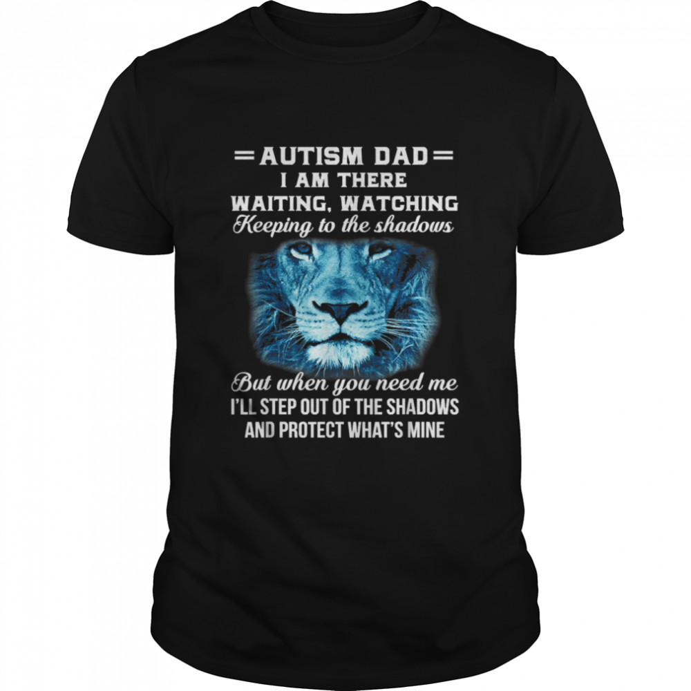 AUTISM DAD  Classic Men's T-shirt