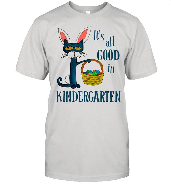 Cat its all good in kindergarten shirt Classic Men's T-shirt