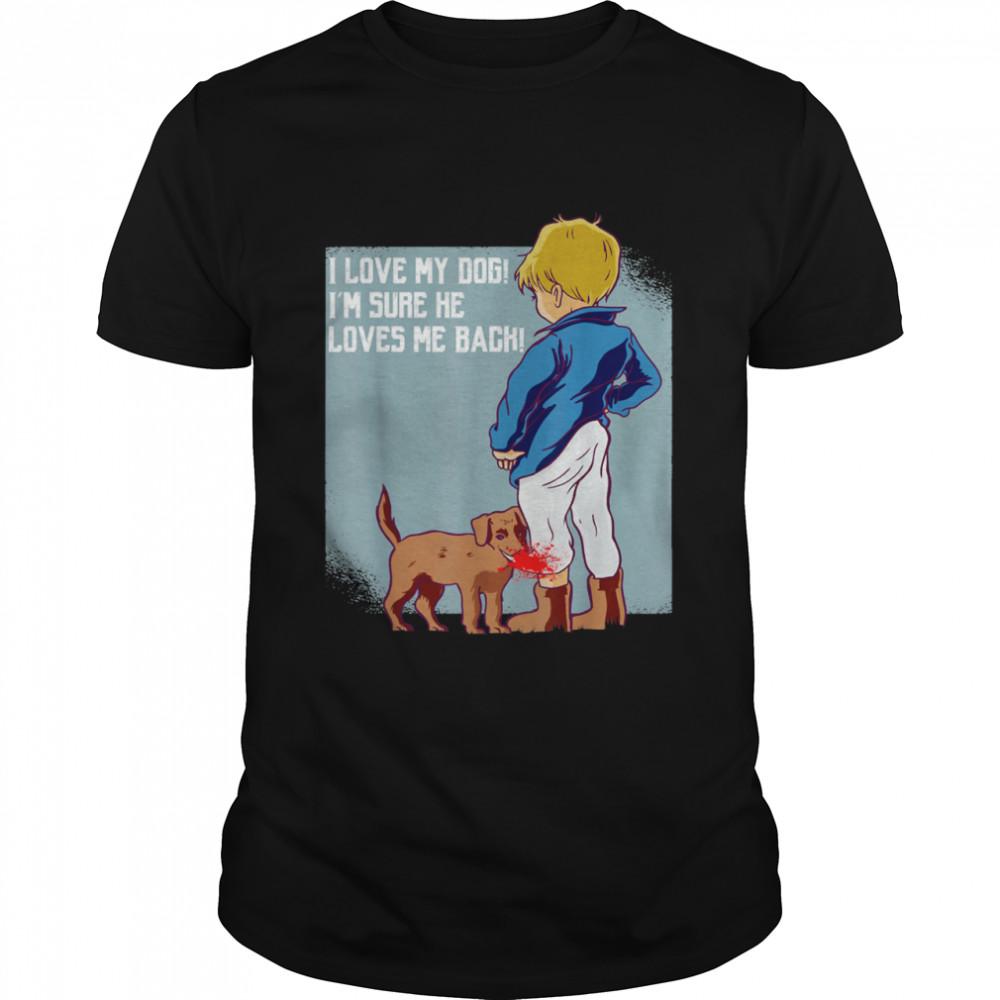 Dog And Herrchen Ein Team Dog Owner  Classic Men's T-shirt