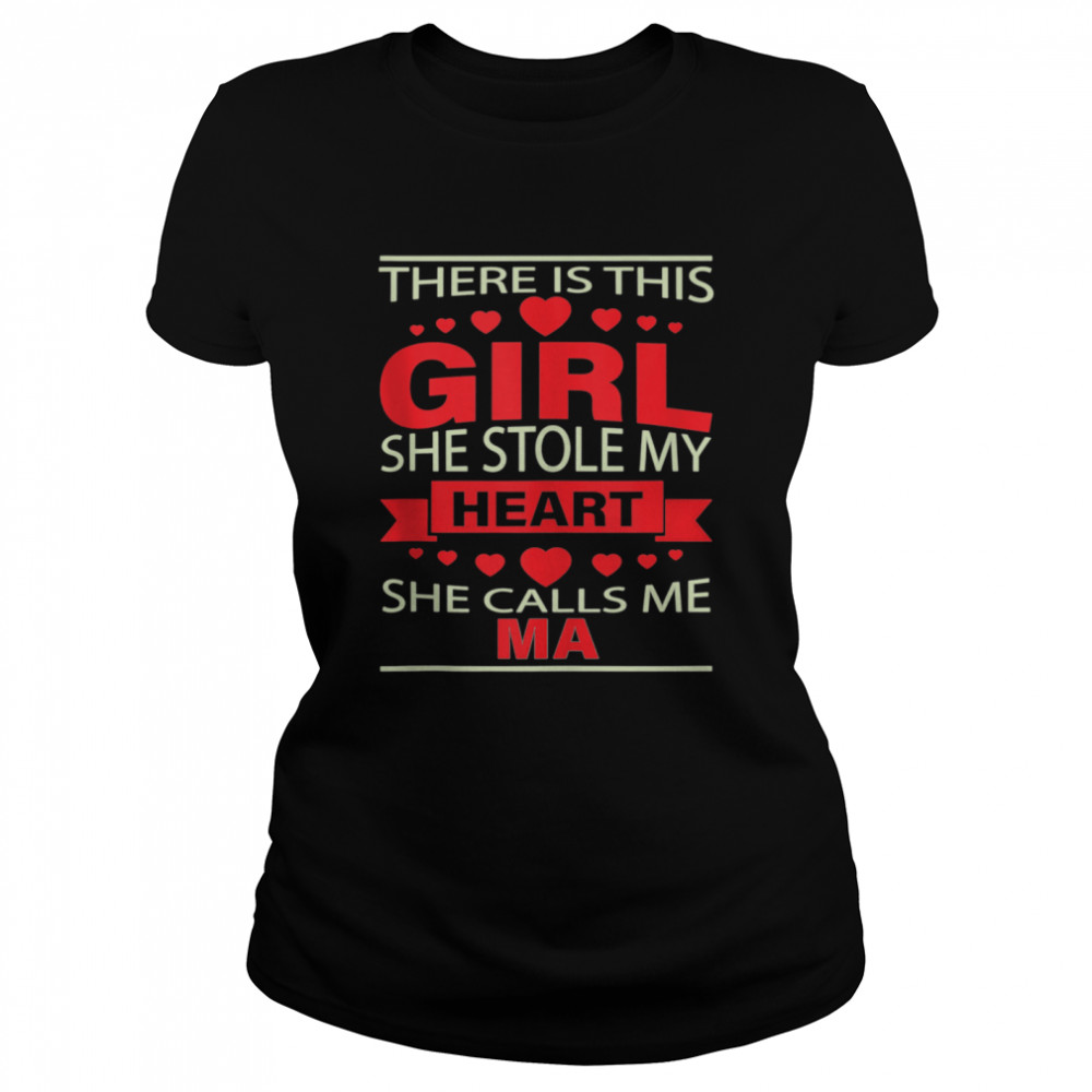 Father's Day for Ma from Daughter girl to Ma  Classic Women's T-shirt