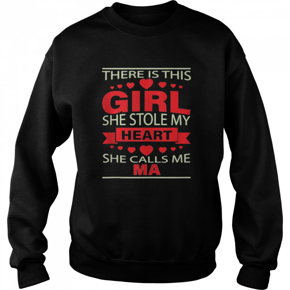 Father's Day for Ma from Daughter girl to Ma  Unisex Sweatshirt