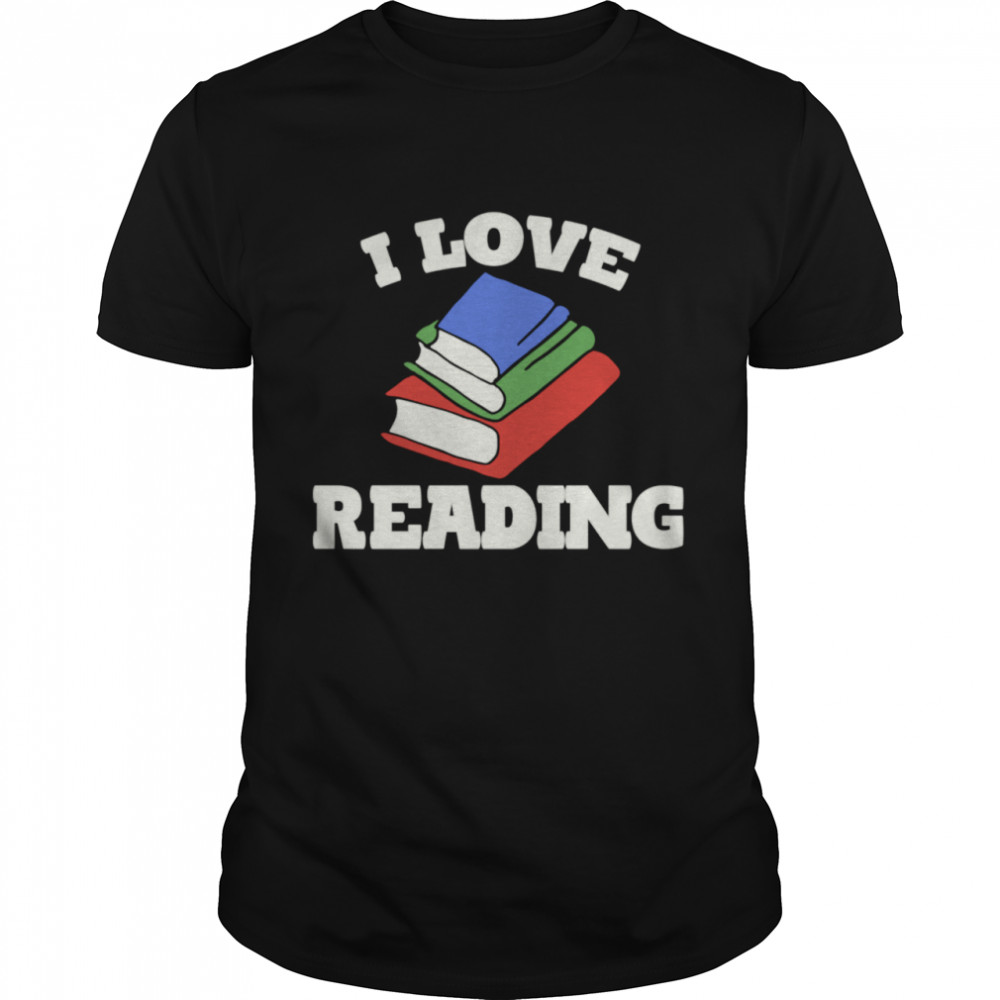 I love reading red rose artwork  Classic Men's T-shirt