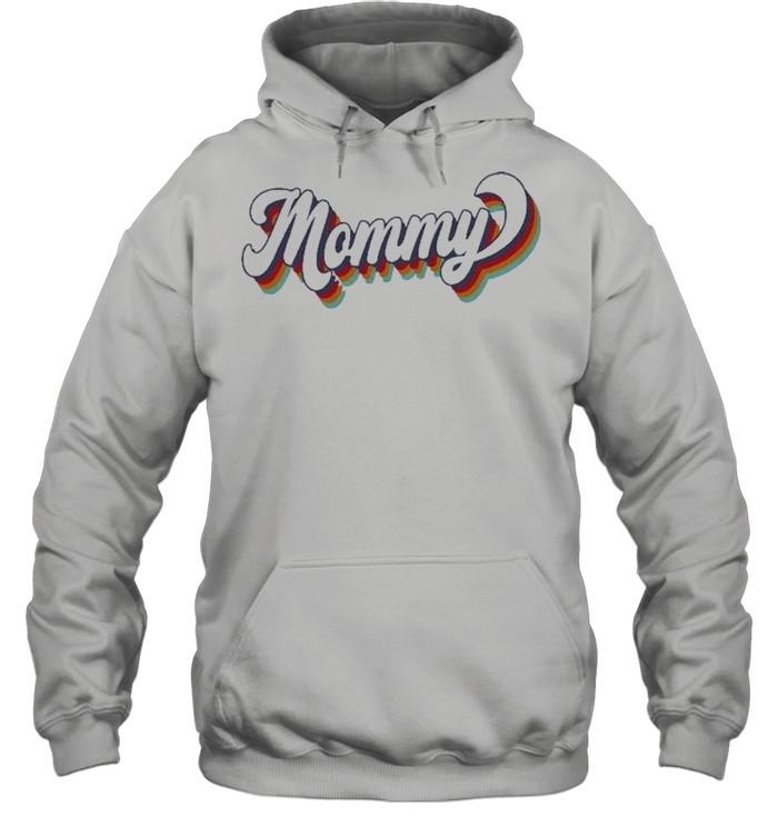 Retro Mommy shirt Unisex Hoodie