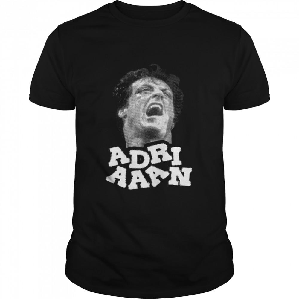Rocky Balboa Boxing Adriaaan shirt Classic Men's T-shirt
