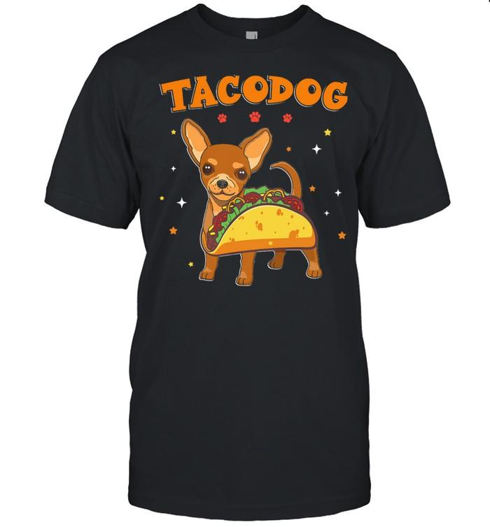 Tacodog Chihuahua Taco shirt Classic Men's T-shirt
