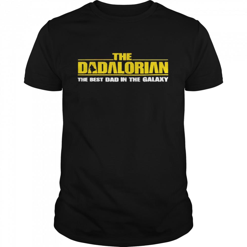 The Dadalorian Best Dad In The Galaxy shirt Classic Men's T-shirt