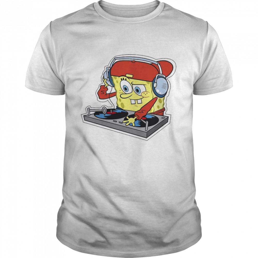 DJ Bob Esponja Remix Trap shirt Classic Men's T-shirt