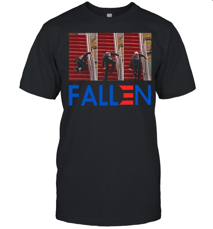 Joe Biden Falling Down Fallen shirt Classic Men's T-shirt