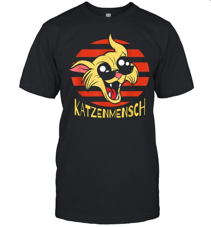 Katzenmensch Coole Katze mit Sonnenbrille als Urlauber  Classic Men's T-shirt