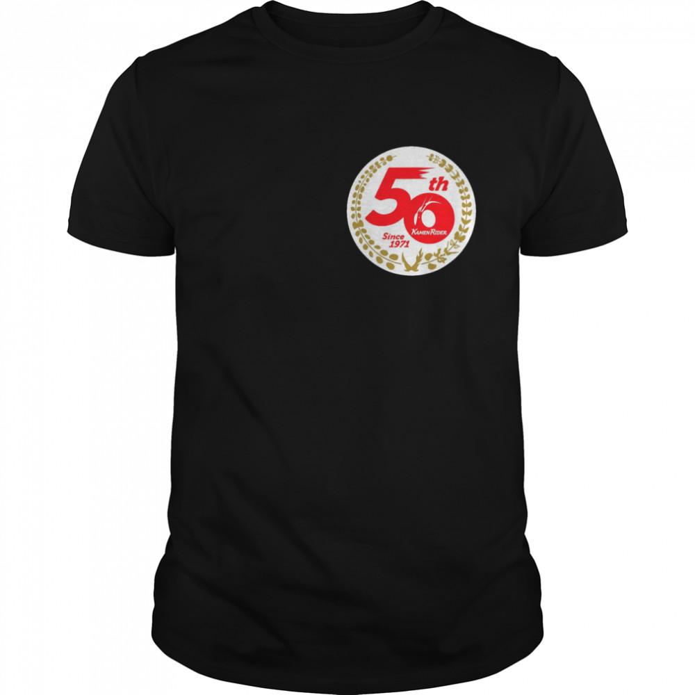 The Kamen Rider 50th Since 1971 Anniversary shirt