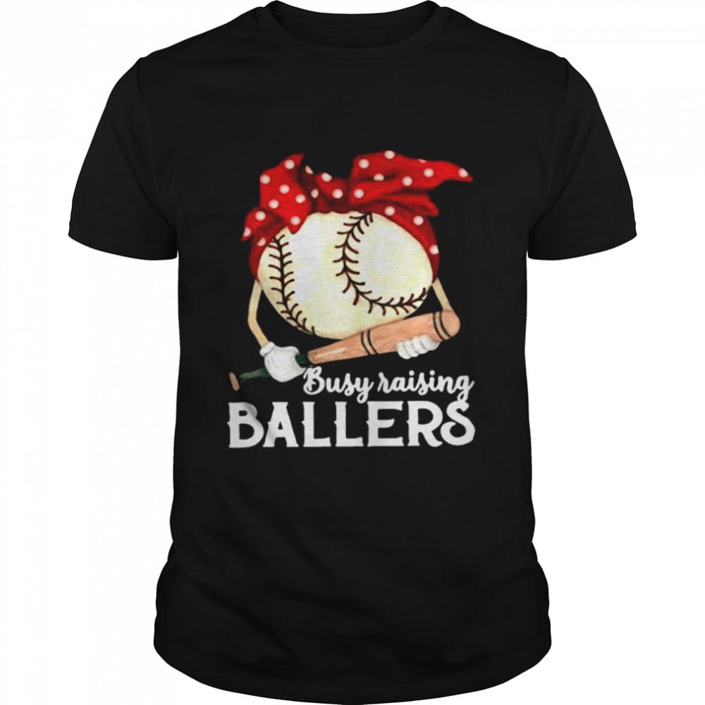 Baseball busy raising ballers shirt Classic Men's T-shirt