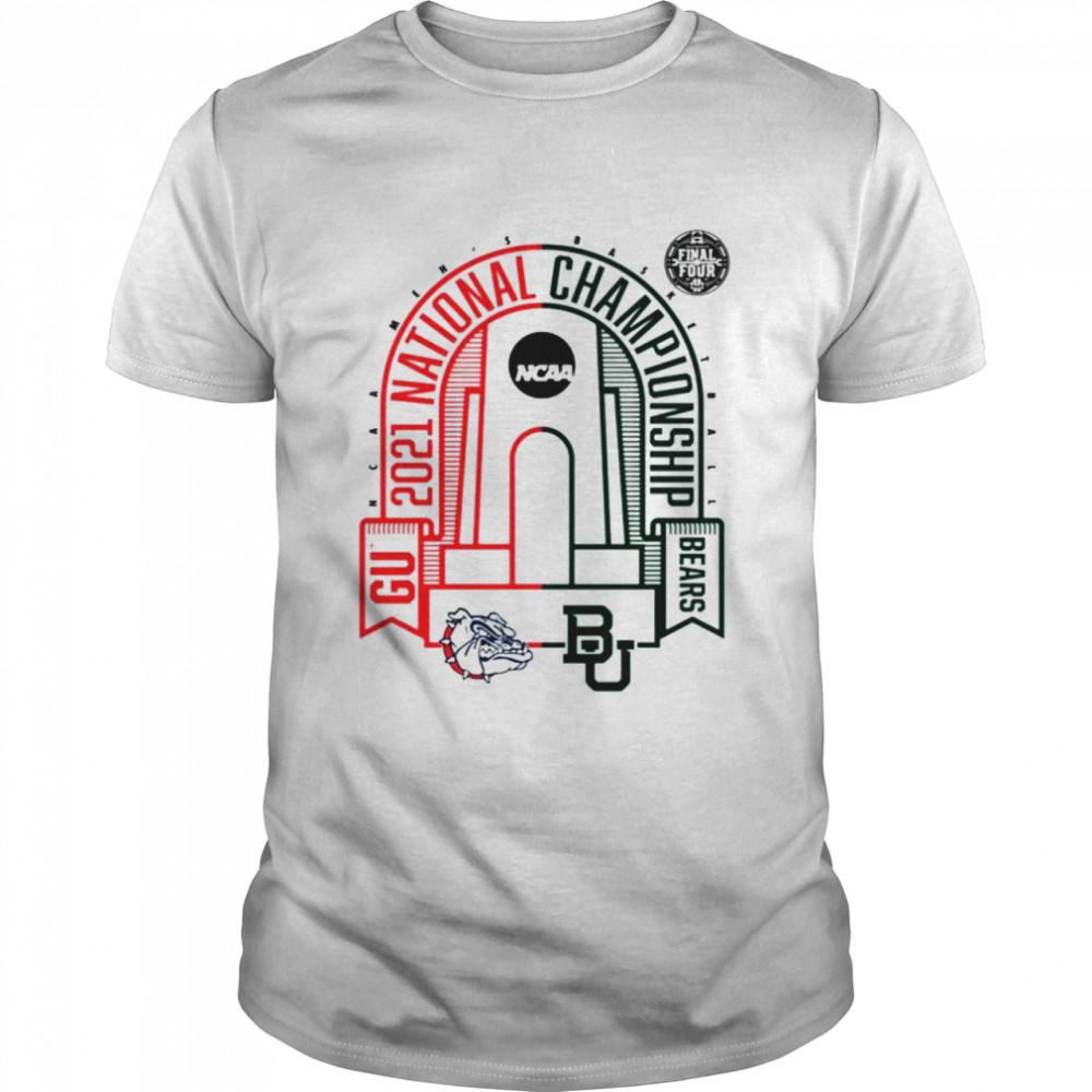 Baylor Bears vs Gonzaga Bulldogs National Championship Matchup Zone 2021 NCAA Men's Basketball shirt Classic Men's T-shirt
