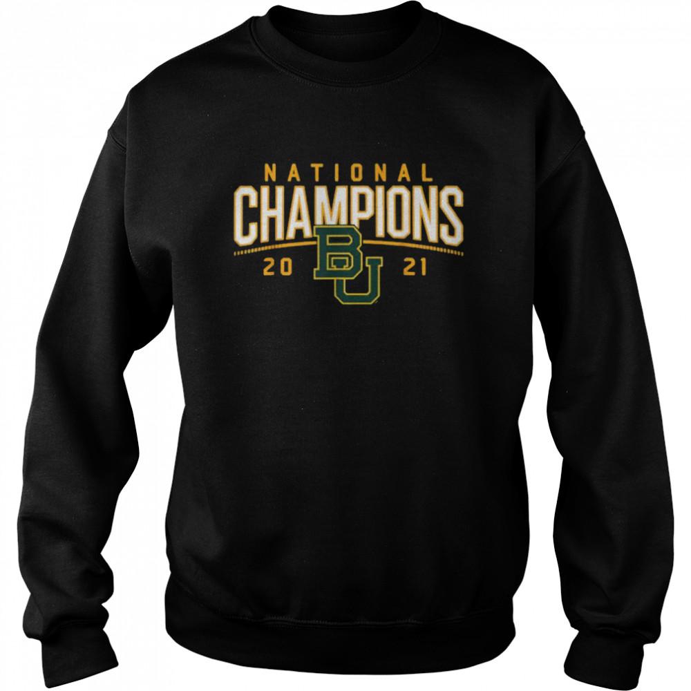 Baylor National Champions 2021  Unisex Sweatshirt