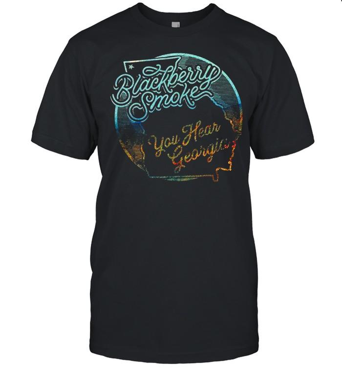 Blackberry Smoke You Hear Georgia shirt Classic Men's T-shirt