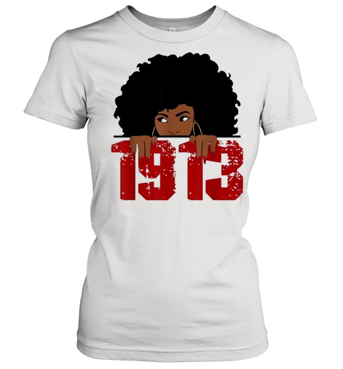 Delta 1913 sorority sigma friend paraphernalia shirt Classic Women's T-shirt