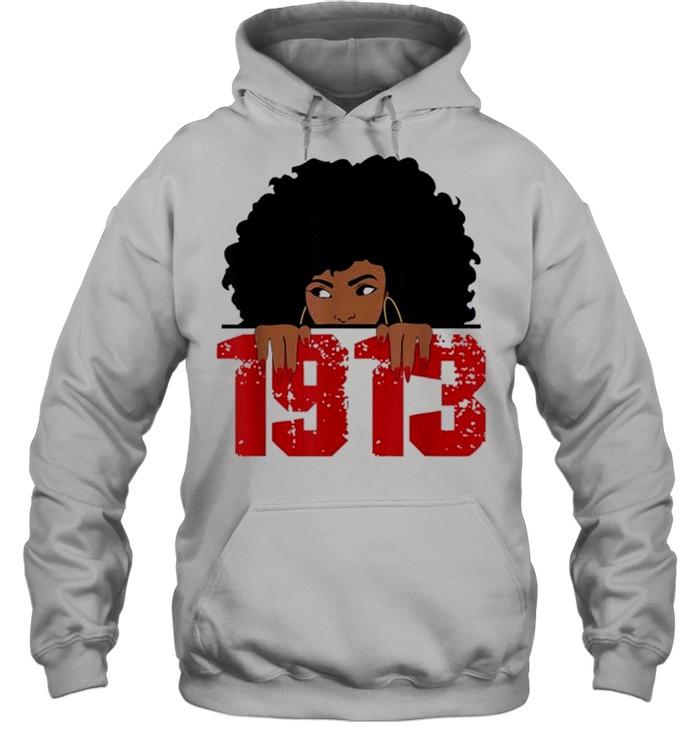 Delta 1913 sorority sigma friend paraphernalia shirt Unisex Hoodie