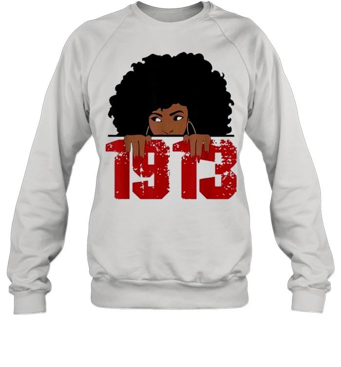 Delta 1913 sorority sigma friend paraphernalia shirt Unisex Sweatshirt