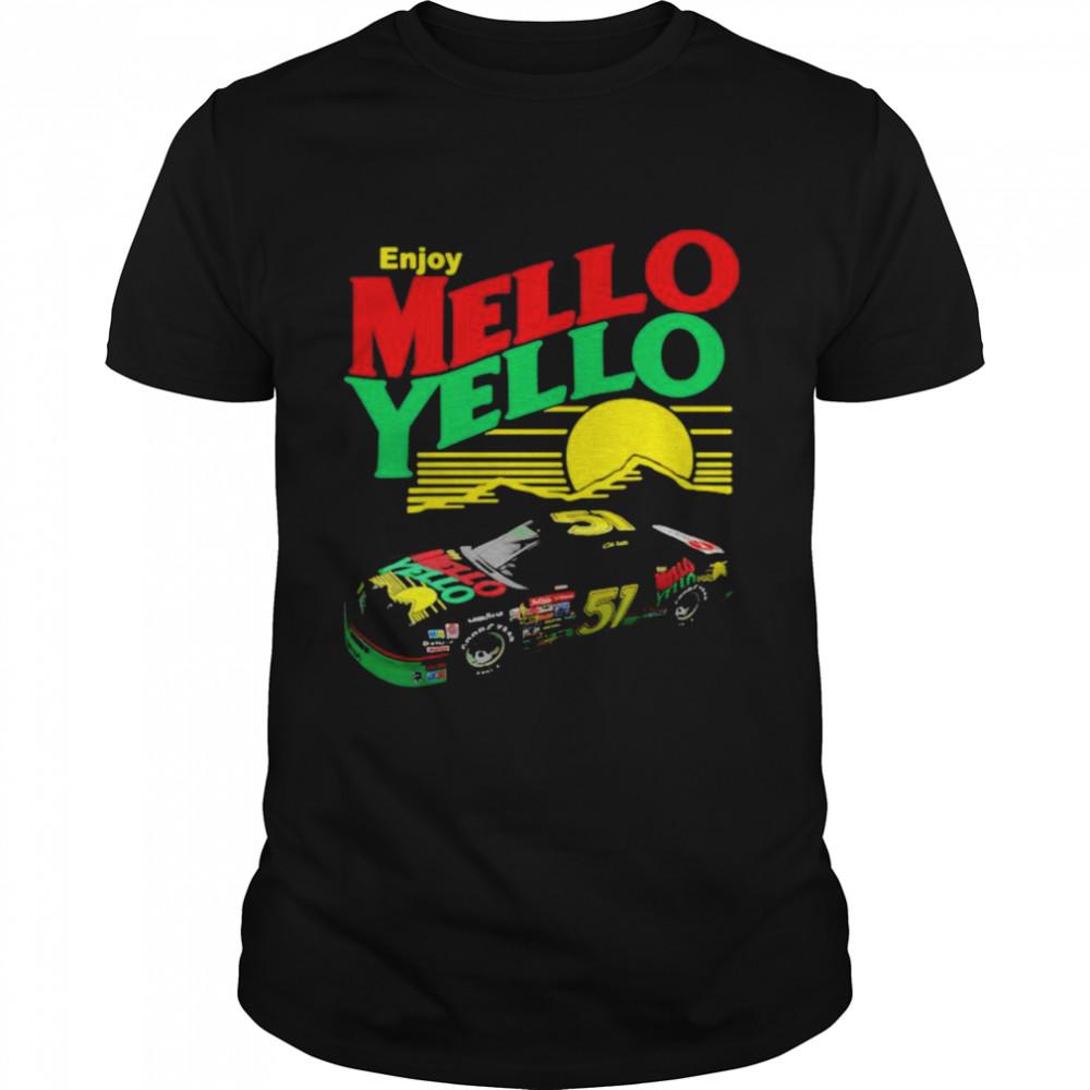Enjoy Mello Yello Sunset  Classic Men's T-shirt