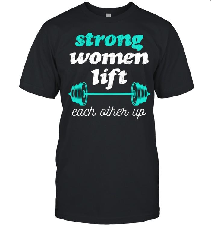 Female Empowerment Weight Lifting Feminist shirt Classic Men's T-shirt