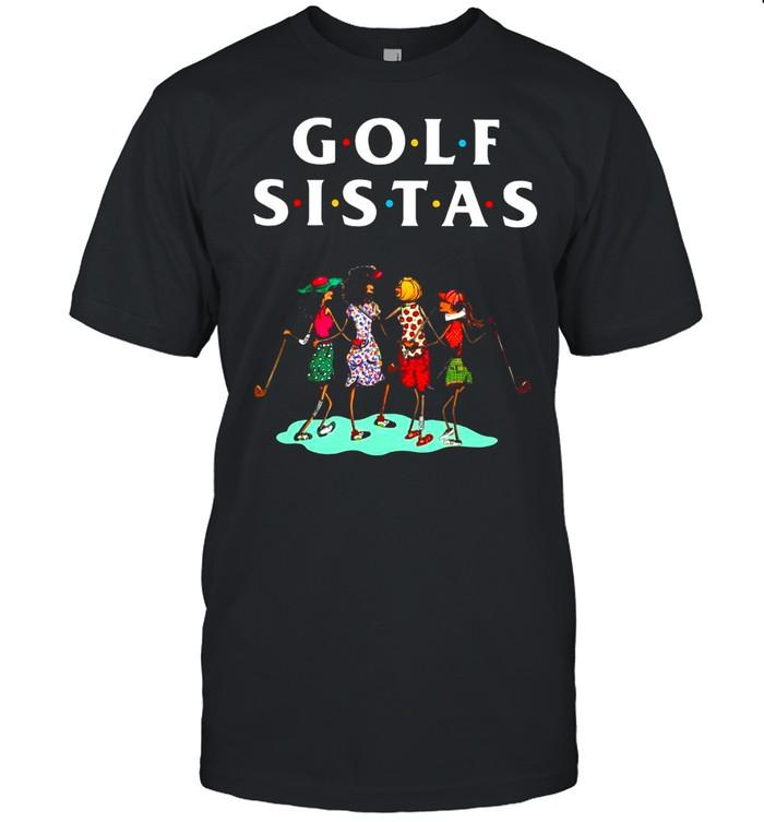 Golf Sistas Queen Girl shirt Classic Men's T-shirt
